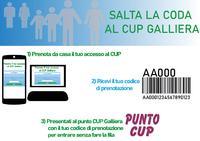 Saltacoda: l'accesso veloce al CUP Galliera