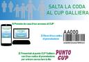 Possibilità di prenotare l'accesso al CUP Galliera evitando l'attesa.