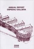 Frontespizio Annual report 2008