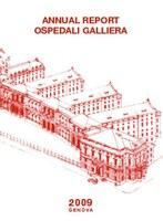 Frontespizio Annual report 2009