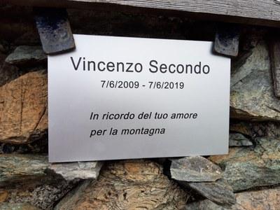 Targa Vincenzo Secondo