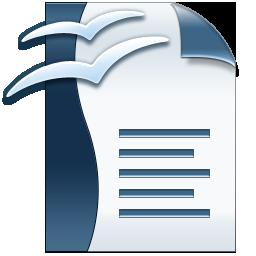 Logo odt word