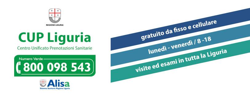 CUP Liguria - Centro Unico di Prenotazione