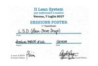 Progetto 'Lean Store Drugs'