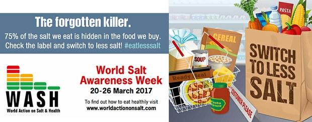 Riduzione del consumo del sale